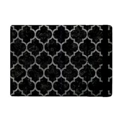 Tile1 Black Marble & Gray Leathertile1 Black Marble & Gray Leather Apple Ipad Mini Flip Case