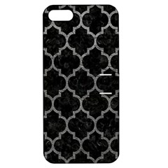 Tile1 Black Marble & Gray Leathertile1 Black Marble & Gray Leather Apple Iphone 5 Hardshell Case With Stand