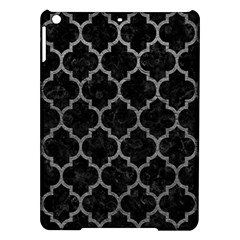 Tile1 Black Marble & Gray Leathertile1 Black Marble & Gray Leather Ipad Air Hardshell Cases