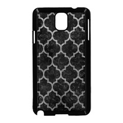 Tile1 Black Marble & Gray Leathertile1 Black Marble & Gray Leather Samsung Galaxy Note 3 Neo Hardshell Case (black)