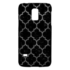Tile1 Black Marble & Gray Leathertile1 Black Marble & Gray Leather Galaxy S5 Mini