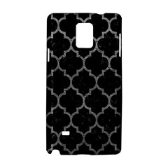 Tile1 Black Marble & Gray Leathertile1 Black Marble & Gray Leather Samsung Galaxy Note 4 Hardshell Case