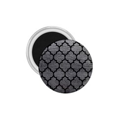 Tile1 Black Marble & Gray Leather (r) 1 75  Magnets