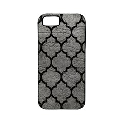 Tile1 Black Marble & Gray Leather (r) Apple Iphone 5 Classic Hardshell Case (pc+silicone)
