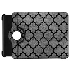 Tile1 Black Marble & Gray Leather (r) Kindle Fire Hd 7