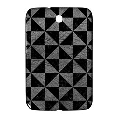 Triangle1 Black Marble & Gray Leather Samsung Galaxy Note 8 0 N5100 Hardshell Case