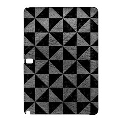 Triangle1 Black Marble & Gray Leather Samsung Galaxy Tab Pro 12 2 Hardshell Case