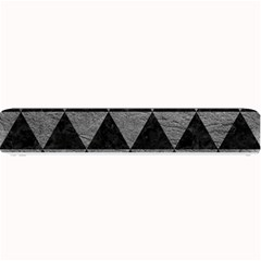 Triangle3 Black Marble & Gray Leather Small Bar Mats