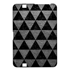 Triangle3 Black Marble & Gray Leather Kindle Fire Hd 8 9