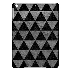 Triangle3 Black Marble & Gray Leather Ipad Air Hardshell Cases