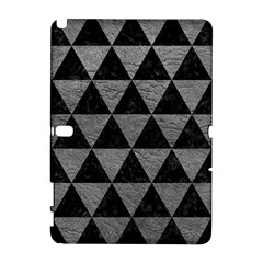 Triangle3 Black Marble & Gray Leather Galaxy Note 1
