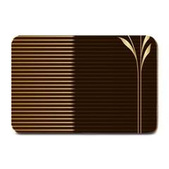 Gold Floral Art Nouveau Plate Mats