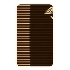 Gold Floral Art Nouveau Memory Card Reader