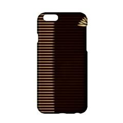 Gold Floral Art Nouveau Apple Iphone 6/6s Hardshell Case