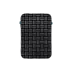 Woven1 Black Marble & Gray Leather Apple Ipad Mini Protective Soft Cases