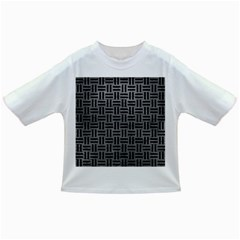 Woven1 Black Marble & Gray Leather (r) Infant/toddler T Shirts