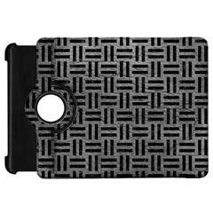 Woven1 Black Marble & Gray Leather (r) Kindle Fire Hd 7