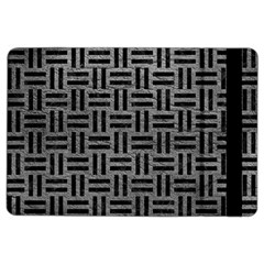 Woven1 Black Marble & Gray Leather (r) Ipad Air 2 Flip