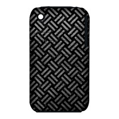 Woven2 Black Marble & Gray Leather Iphone 3s/3gs