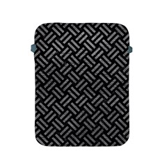 Woven2 Black Marble & Gray Leather Apple Ipad 2/3/4 Protective Soft Cases