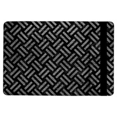 Woven2 Black Marble & Gray Leather Ipad Air Flip