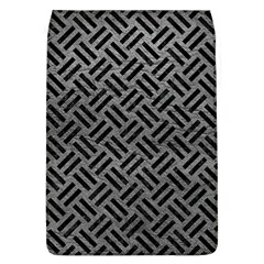 Woven2 Black Marble & Gray Leather (r) Flap Covers (l)