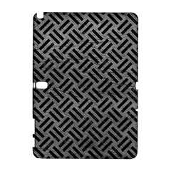 Woven2 Black Marble & Gray Leather (r) Galaxy Note 1