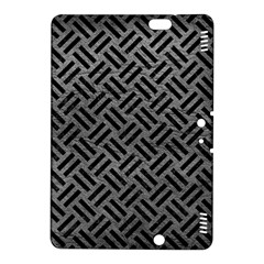Woven2 Black Marble & Gray Leather (r) Kindle Fire Hdx 8 9  Hardshell Case