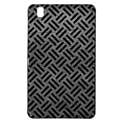Woven2 Black Marble & Gray Leather (r) Samsung Galaxy Tab Pro 8 4 Hardshell Case
