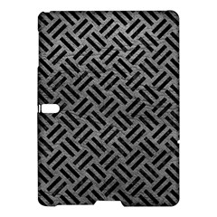 Woven2 Black Marble & Gray Leather (r) Samsung Galaxy Tab S (10 5 ) Hardshell Case