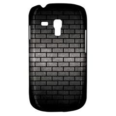 Brick1 Black Marble & Gray Metal 1 (r) Galaxy S3 Mini