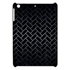 Brick2 Black Marble & Gray Metal 1 Apple Ipad Mini Hardshell Case