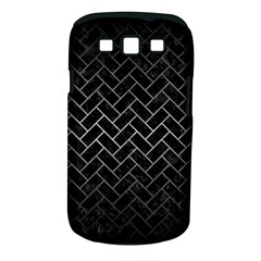 Brick2 Black Marble & Gray Metal 1 Samsung Galaxy S Iii Classic Hardshell Case (pc+silicone)