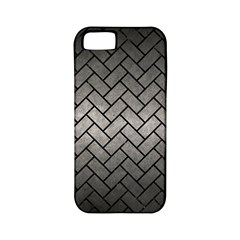 Brick2 Black Marble & Gray Metal 1 (r) Apple Iphone 5 Classic Hardshell Case (pc+silicone)