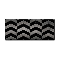 Chevron2 Black Marble & Gray Metal 1 Cosmetic Storage Cases