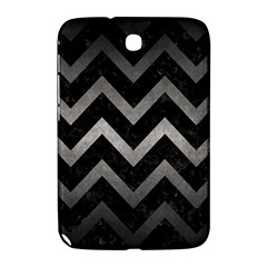 Chevron9 Black Marble & Gray Metal 1 Samsung Galaxy Note 8 0 N5100 Hardshell Case
