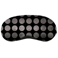 Circles1 Black Marble & Gray Metal 1 Sleeping Masks