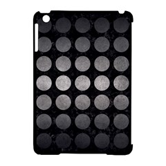 Circles1 Black Marble & Gray Metal 1 Apple Ipad Mini Hardshell Case (compatible With Smart Cover)