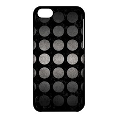 Circles1 Black Marble & Gray Metal 1 Apple Iphone 5c Hardshell Case