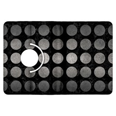 Circles1 Black Marble & Gray Metal 1 Kindle Fire Hdx Flip 360 Case