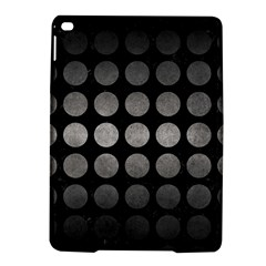 Circles1 Black Marble & Gray Metal 1 Ipad Air 2 Hardshell Cases