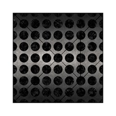 Circles1 Black Marble & Gray Metal 1 (r) Acrylic Tangram Puzzle (6  X 6 )