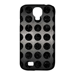 Circles1 Black Marble & Gray Metal 1 (r) Samsung Galaxy S4 Classic Hardshell Case (pc+silicone)