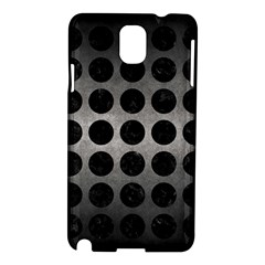 Circles1 Black Marble & Gray Metal 1 (r) Samsung Galaxy Note 3 N9005 Hardshell Case