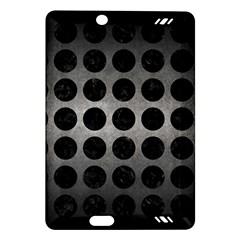 Circles1 Black Marble & Gray Metal 1 (r) Amazon Kindle Fire Hd (2013) Hardshell Case