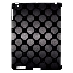 Circles2 Black Marble & Gray Metal 1 Apple Ipad 3/4 Hardshell Case (compatible With Smart Cover)
