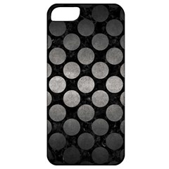 Circles2 Black Marble & Gray Metal 1 Apple Iphone 5 Classic Hardshell Case