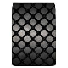 Circles2 Black Marble & Gray Metal 1 Flap Covers (s)
