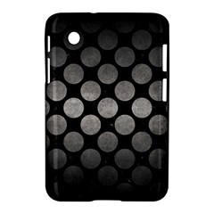 Circles2 Black Marble & Gray Metal 1 Samsung Galaxy Tab 2 (7 ) P3100 Hardshell Case