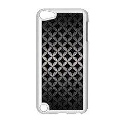 Circles3 Black Marble & Gray Metal 1 Apple Ipod Touch 5 Case (white)